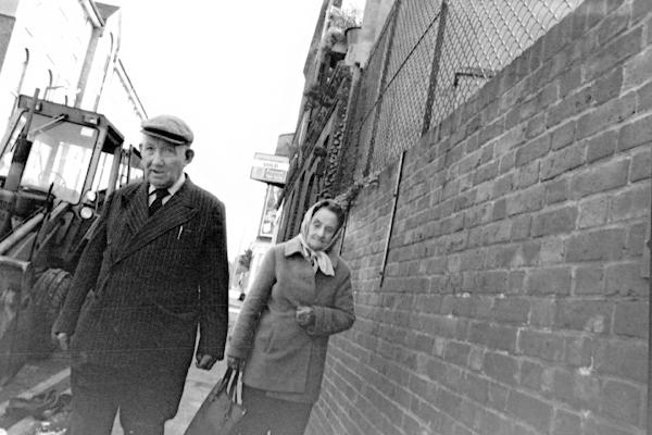 Couple in Whitechapel, c.1982