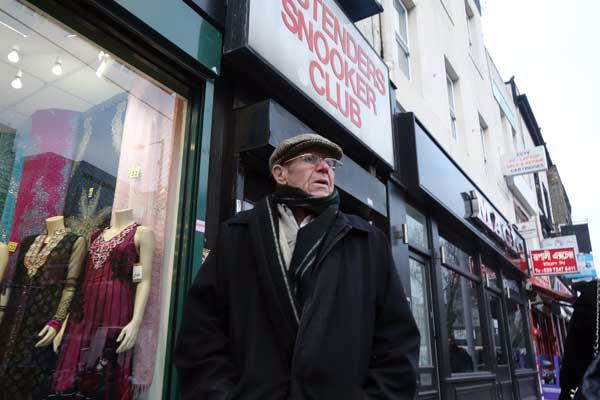 Man with a cap, Whitechapel London 2012