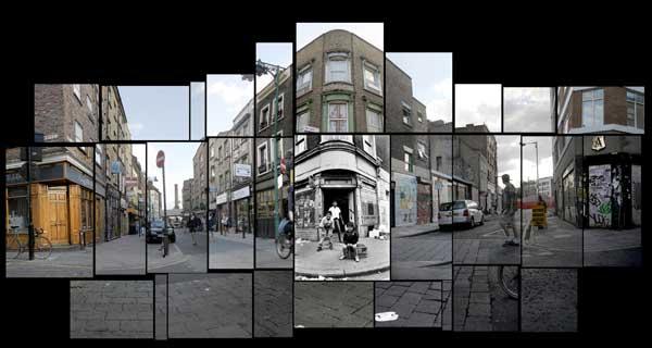 Brick Lane Collage, 2011