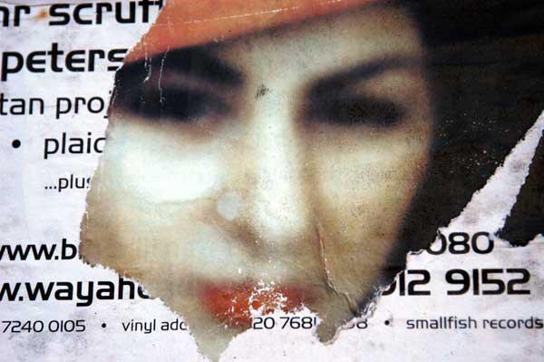 Poster fragment, Brick Lane 2002