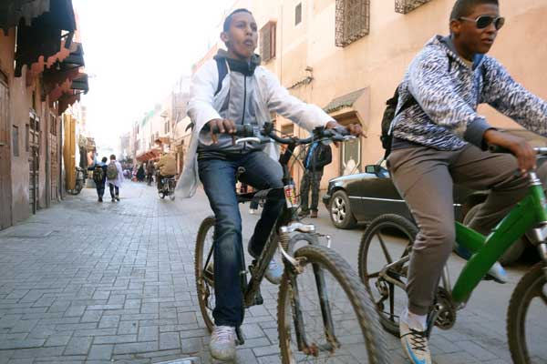 Bicycles in Marrakech, 2013