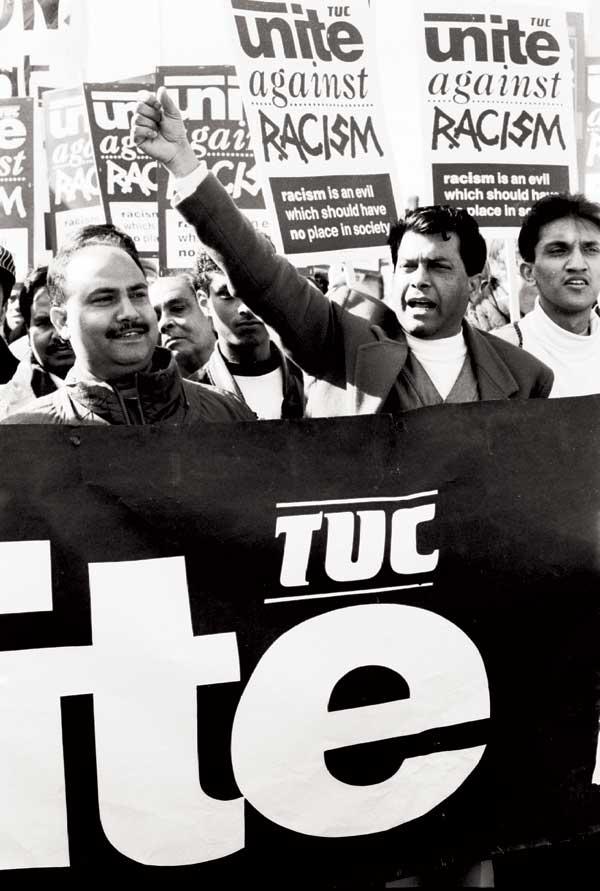 Anti-racist TUC demo, Whitechapel 1994