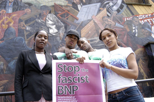 Demonstration against the BNP, Cable Street c. 2006