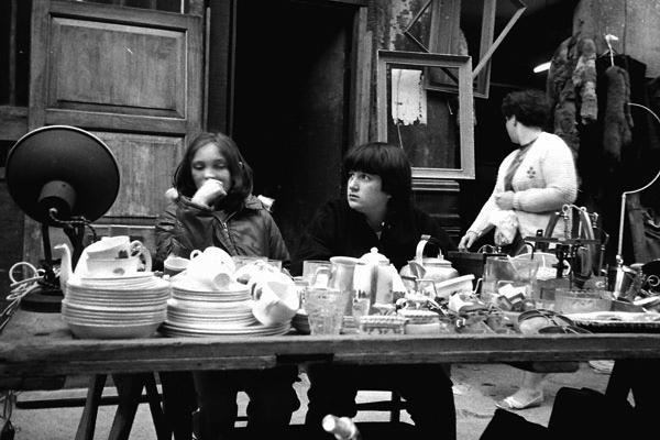 Market Stall, Cheshire Street c. 1984