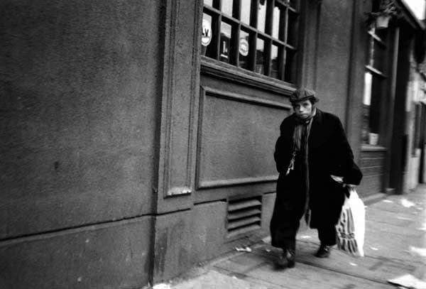 Man on Bethnal Green Road, C. 1989