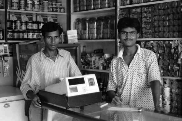 Shop in Bangladesh, c.1992
