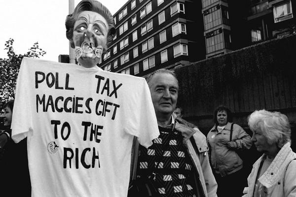 Anti Poll Tax demonstration, 1990
