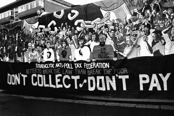 Anti Poll Tax Art, 1990