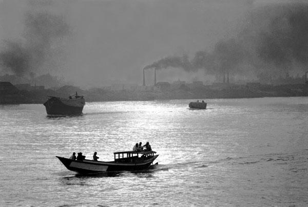 River boat, Dhaka Bangladesh, c. 1992
