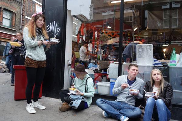 Sunday on Brick Lane, 2013