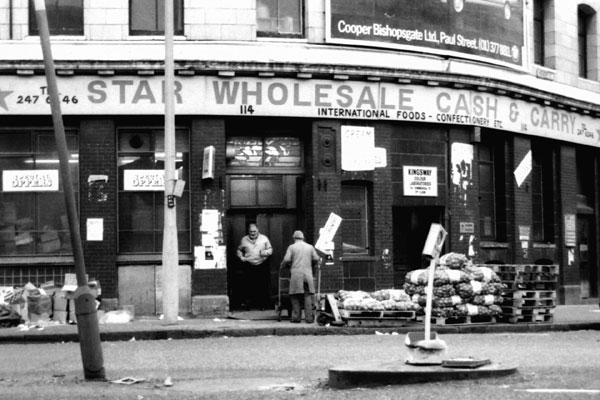 Star wholesale cash and carry, Commercial Street c. 1980's