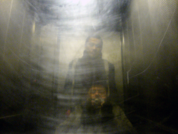 Lift in Old Montague Street 2010