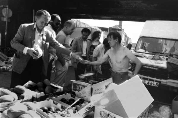 Brick Lane market c. 1987