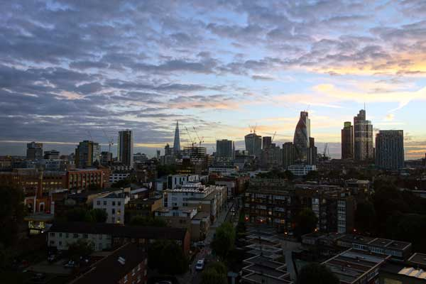 Looking West from Whitechapel 2013