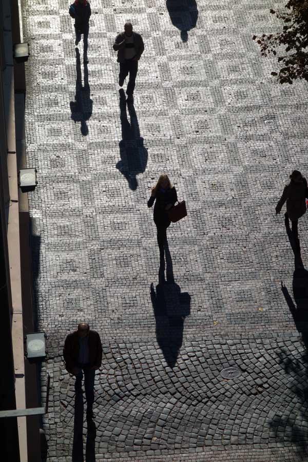 Wenceslas Square, Prague 2013