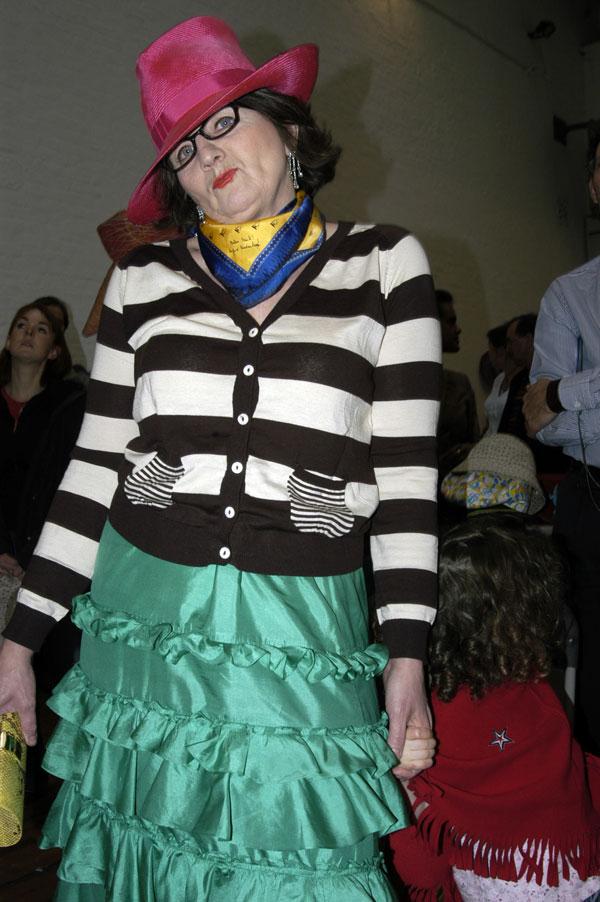 Sandra, Spitalfields 2004