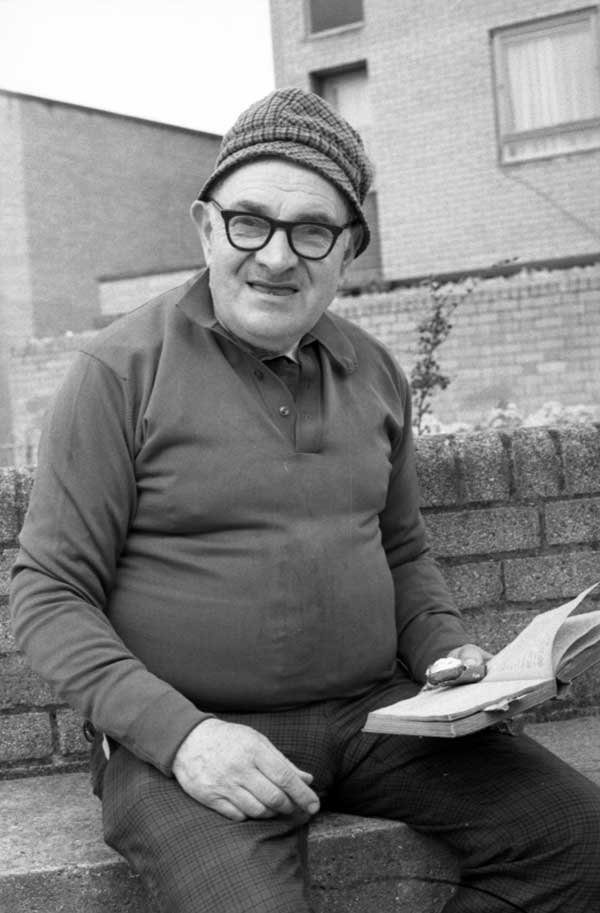 Solly Kaufman in Hanbury Street c.1987