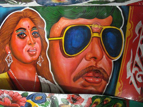 Rickshaw art Dhaka Bangladesh 2009