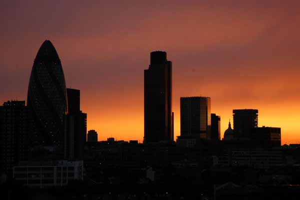 Looking West from Whitechapel 2005