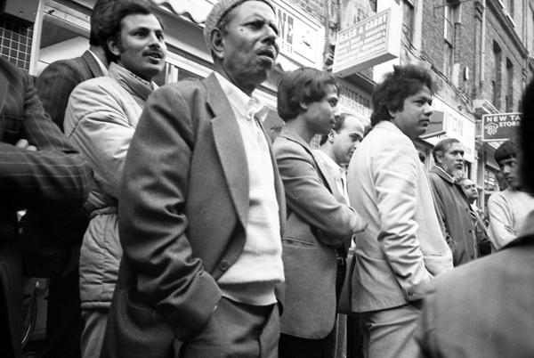 Demonstration on Brick Lane c.1983