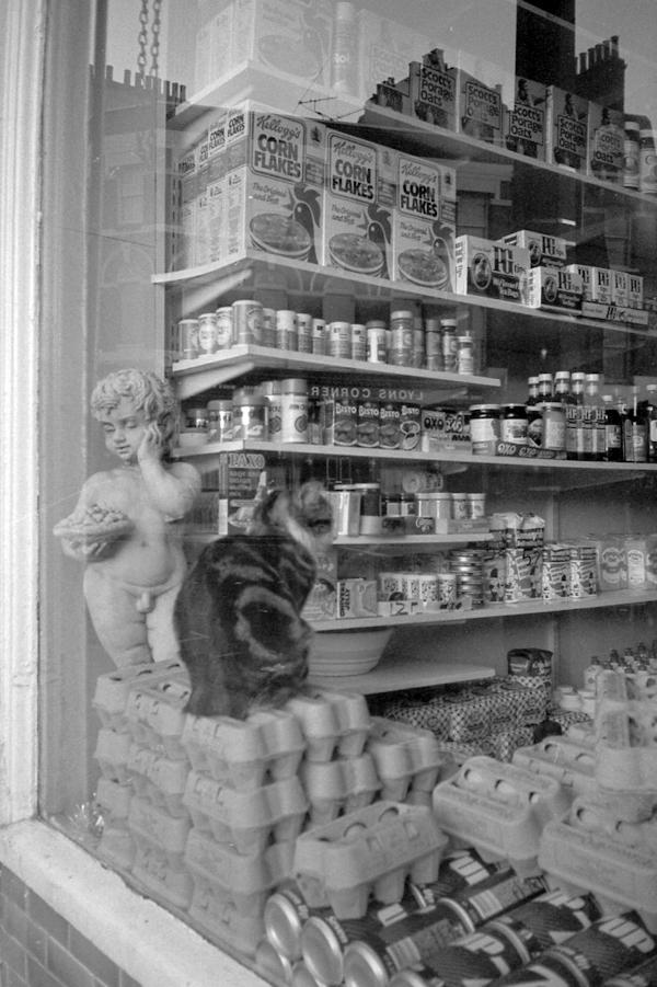 Shop window, Whitechapel c.1983