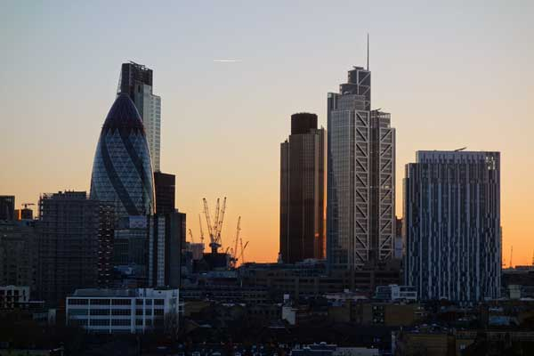 The City from Spitalfields 2012