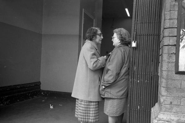 Whitechapel Station c.1984