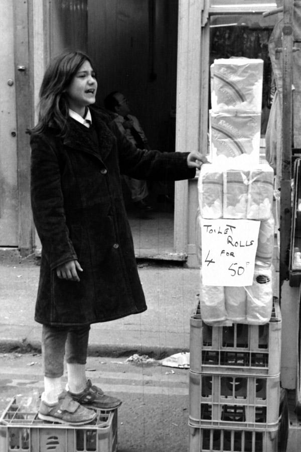 Brick Lane Market (Cheshire Street) c.1984