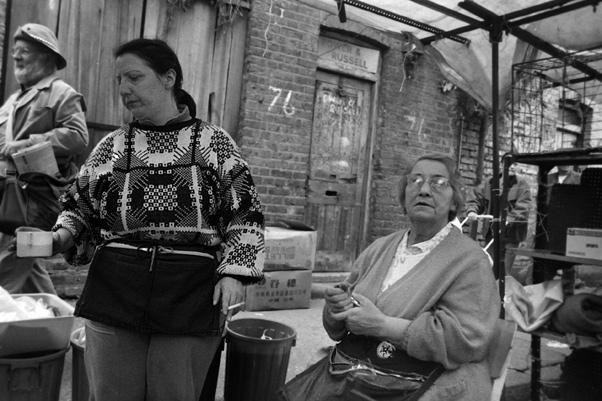 Brick Lane Market (Sclater Street) c.1991
