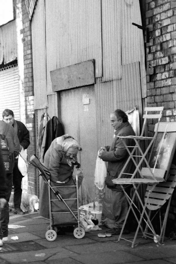 Brick Lane Market (Sclater Street) 1999