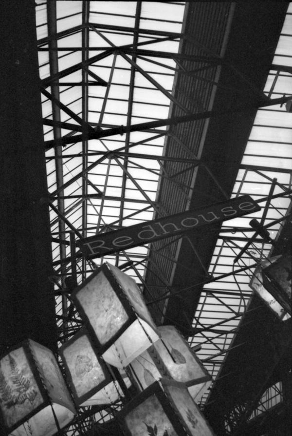 Inside Spitalfields market c.1996