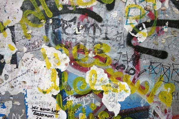 Part of the remaining Berlin Wall 2013