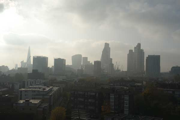 Looking West from Whitechapel 2014