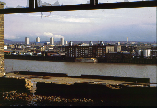 River Thames from Shadwell 1983