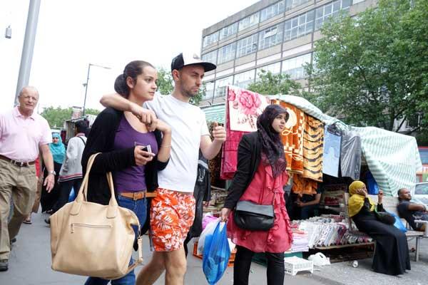 Whitechapel Market 2014