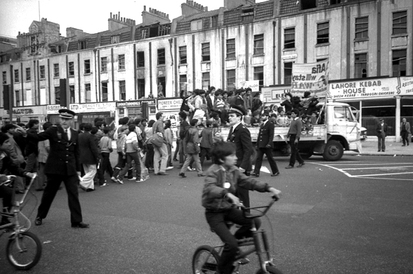 Demonstration against the deportation of Afia Begum 1982
