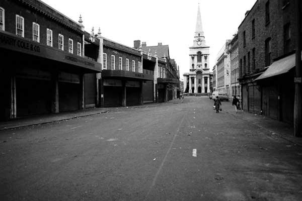Christ Church Spitalfields c.1985