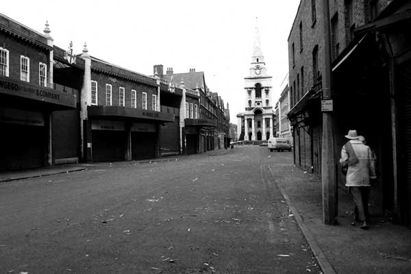 Christ Church Spitalfields c.1985