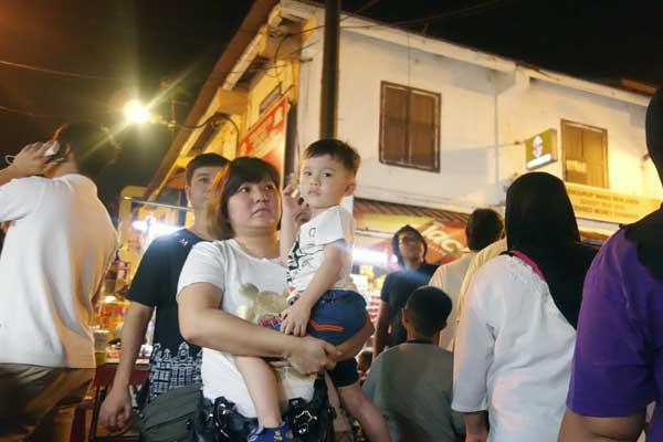Jonker Street Melaka 2015