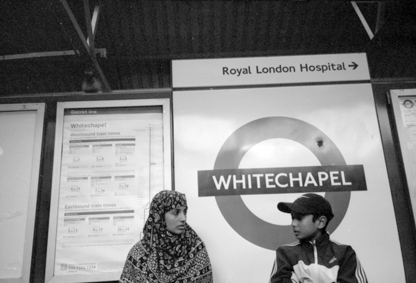 Whitechapel Station 1997
