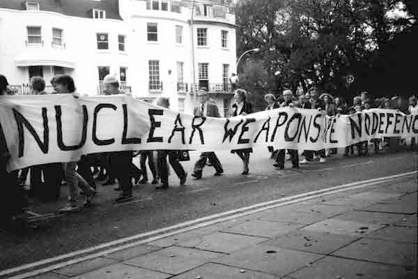 Anti-nuclear protest, Brighton c.1984