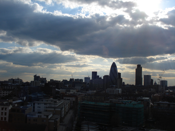 London City skyline 2012