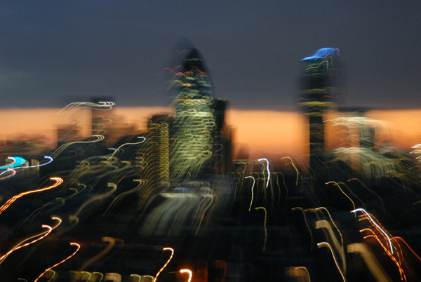 London City skyline 2009