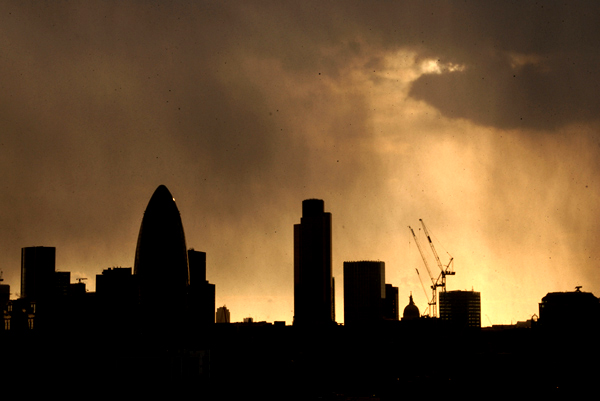 London City skyline 2006