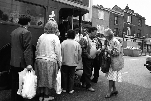 Bethnal Green Road c.1985