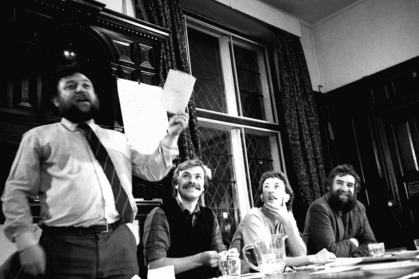 Support the miners meeting at Toynbee Hall 1984