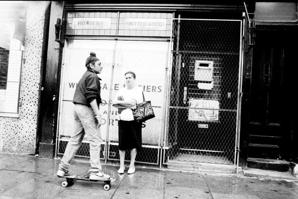 Skate Board, Whitechapel Road c.1985