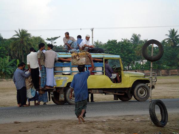 Small Bus, Bangladesh 2008