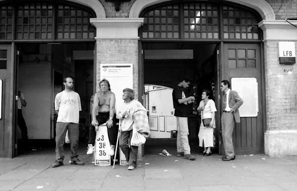 Whitechapel Station 2000