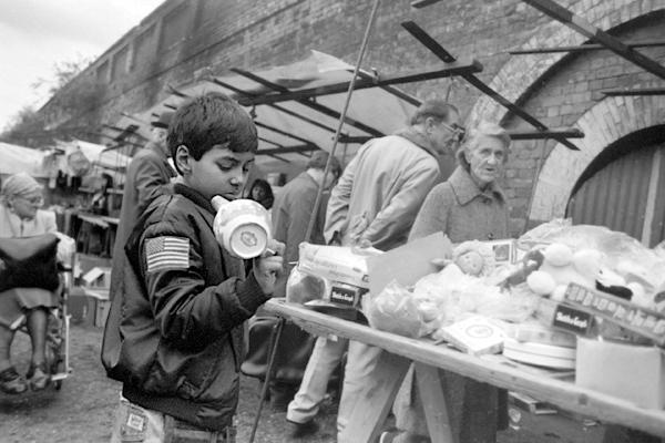 Sclater Street Market c.1985